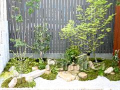 お庭セット(和風) /本格築山 施工工程