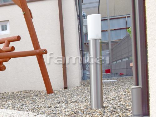 玄関エントランスライト照明 TAKASHOタカショー シンプルLEDポールライト12型