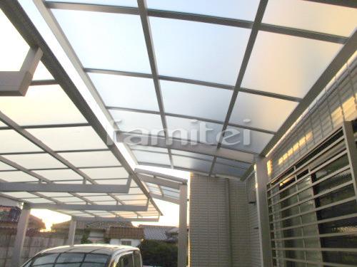 カーポート LIXILリクシル ネスカR 1台用(単棟) R型アール屋根