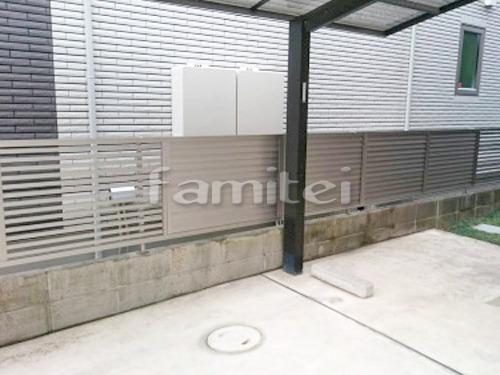 境界フェンス塀 LIXILリクシル プレスタ3型 8型
