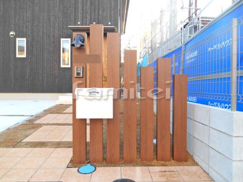 門柱 木製調デザインアルミ角柱 LIXILリクシル デザイナーズパーツ 角材