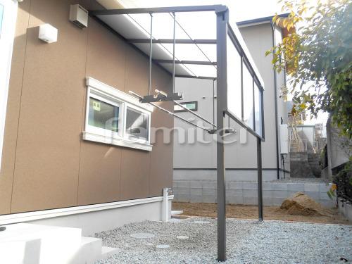 洗濯干し屋根 LIXILリクシル スピーネ 1階用 F型フラット屋根 目隠しパネル(前面 正面)1段 物干し
