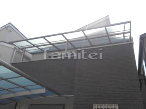 ベランダ屋根 LIXILリクシル スピーネ 2階用 F型フラット屋根