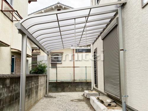 雨除け屋根 YKKAP ソラリアテラス屋根 1階用 R型アール屋根 物干し