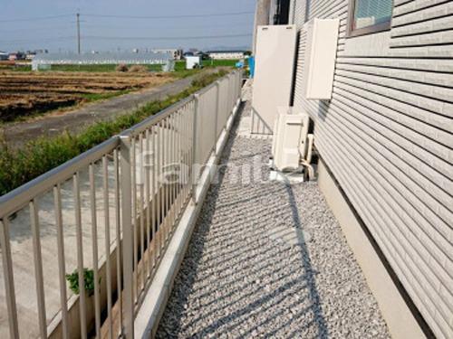 境界フェンス塀 YKKAP シンプレオT2型 縦格子