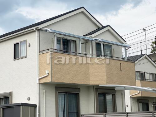 ベランダ屋根 YKKAP ソラリアテラス屋根 2階用 R型アール屋根