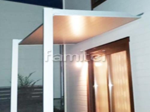 雨除け屋根 LIXILリクシル 独立式テラスSC 1階用 F型フラット屋根 躯体すき間ふさぎ材