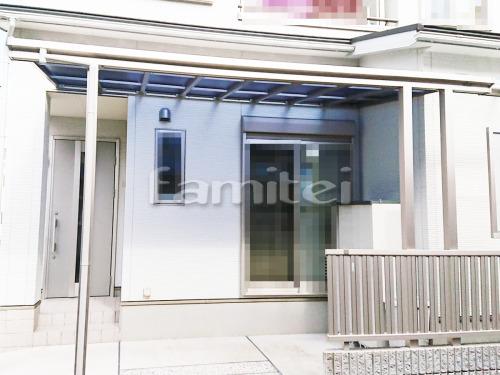 雨除け屋根 YKKAP ソラリアテラス屋根 1階用 積雪50cm対応 F型フラット屋根