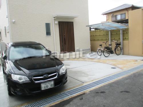 駐車場ガレージ床 土間コンクリート  溝蓋(みぞふた) グレーチング