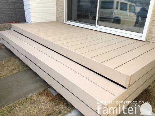人工木材ウッドデッキ LIXILリクシル 樹ら楽ステージ(きらら) 樹脂