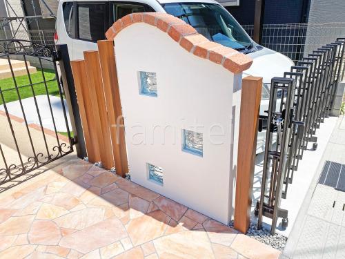 木製調デザインアルミ角柱 プランパーツ 角材