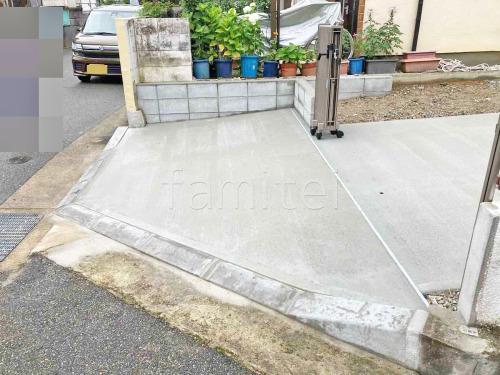 駐車場ガレージ床 土間コンクリート 伸縮目地