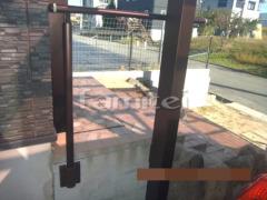 施工例画像:玄関ポーチ手摺り(手すり) YKKAP パルトナーUDフェンス1型