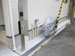 施工例画像:機能門柱 YKKAP シンプレオ1型