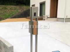 施工例画像:機能門柱 LIXILリクシル アクシィ2型