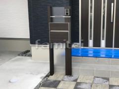 施工例画像:機能門柱 YKKAP ルシアスポストユニットBP01型