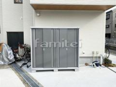 施工例画像:イナバ物置 シンプリー MJX-219EP 野外物置き 収納庫 倉庫