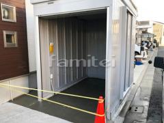 施工例画像:イナバ物置 FXN-1730H バイク保管庫