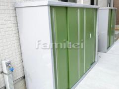 施工例画像:イナバ物置 シンプリー MJXー196D 野外物置き 収納庫 倉庫
