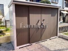施工例画像:ヨド物置 エルモ LMD-2911 野外物置き 収納庫 倉庫