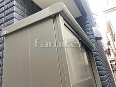 施工例画像:ヨド物置 エスモ ESE-1205A 野外物置き 収納庫 倉庫