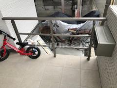 施工例画像:玄関アプローチ階段 玄関ポーチ手摺り(手すり) LIXILリクシル アーキレール