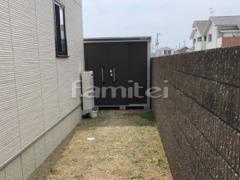 施工例画像:ヨド物置 エルモ LMD-2511 野外物置き 収納庫 倉庫