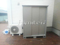 施工例画像:ヨド物置 エスモ ESE-1509A 野外物置き 収納庫 倉庫