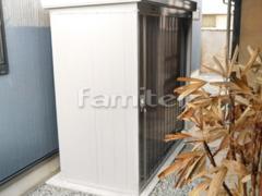 施工例画像:イナバ物置 ネクスタ NXN-21S 野外物置き 収納庫 倉庫