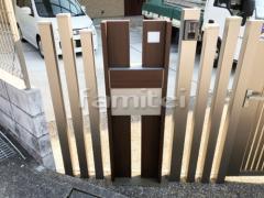 施工例画像:玄関まわり 機能門柱 YKKAP ルシアスポストユニットBS03型
