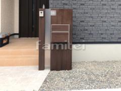 施工例画像:機能門柱 YKKAP ルシアスポストユニットAS01型