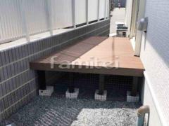 施工例画像:人工木ウッドデッキ YKKAP リウッドデッキ200