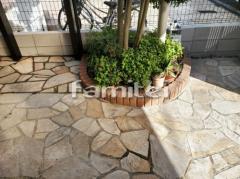 施工例画像:レンガ花壇 ユニソン ソイルレンガ