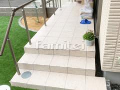 施工例画像:お庭 タイルデッキ