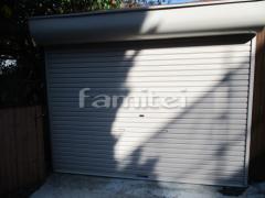 施工例画像:駐車場ガレージ 三和シャッター バランスシャッター