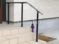 施工例画像:玄関ポーチ 手摺り(手すり) LIXILリクシル グリップライン
