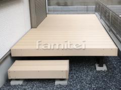 施工例画像:段差ステップ1段 床色 ペールウッド