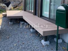 施工例画像:お庭 ジャミ敷き