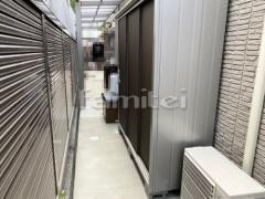 施工例画像:ヨド物置 エスモ ESE-1906A 野外物置き 収納庫 倉庫