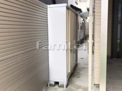 施工例画像:イナバ物置 シンプリー MJX-195EP 野外物置き 収納庫 倉庫