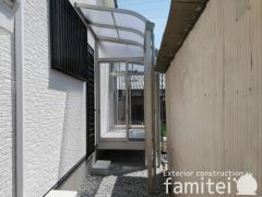 施工例画像:サンルーム YKKAPソラリア テラス屋根 ソラリア