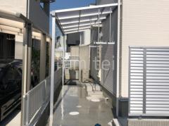 施工例画像:カーポート YKKAP レイナポートグラン雨除け屋根 ソラリア