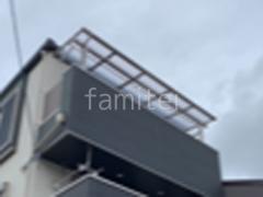 施工例画像:3階ベランダ屋根 LIXIL スピーネF