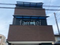 施工例画像:2階 3階ベランダ屋根 LIXIL スピーネR