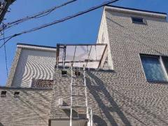 施工例画像:ベランダ屋根 LIXIL スピーネ