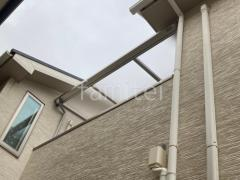 施工例画像:カーポート 四国マイポートNext ベランダ屋根 YKKソラリア