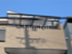 施工例画像:カーポート1台 LIXIL ネスカF 3階ベランダ屋根 スピーネF