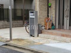 施工例画像:機能門柱 Panasonic アーキフレーム