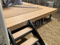 施工例画像:階段ステップ2段