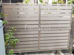 施工例画像:目隠しフェンス塀 LIXIL フェンスAB YS3型